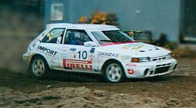 JeanMarc Alcarazs Mazda 323 GTR Rally Car Rally Racing News