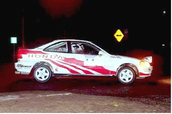 Team Enicar Rs 1997 Honda Civic Si Coupe Rally Car Rally Racing News